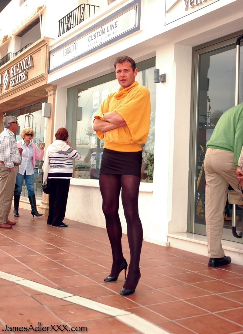Men In Pantyhose And Skirts