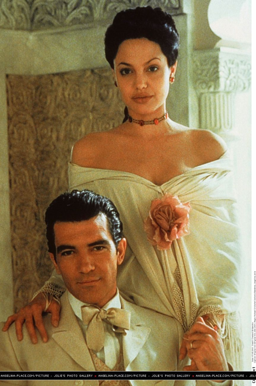 Angelina Jolie Original Sin original sin movie - angelina jolie and antonio banderas