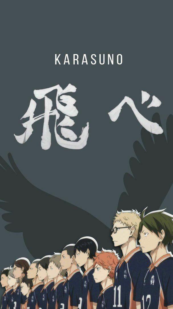 Pin On Say Hi Kyu Anime wallpaper phone haikyuu