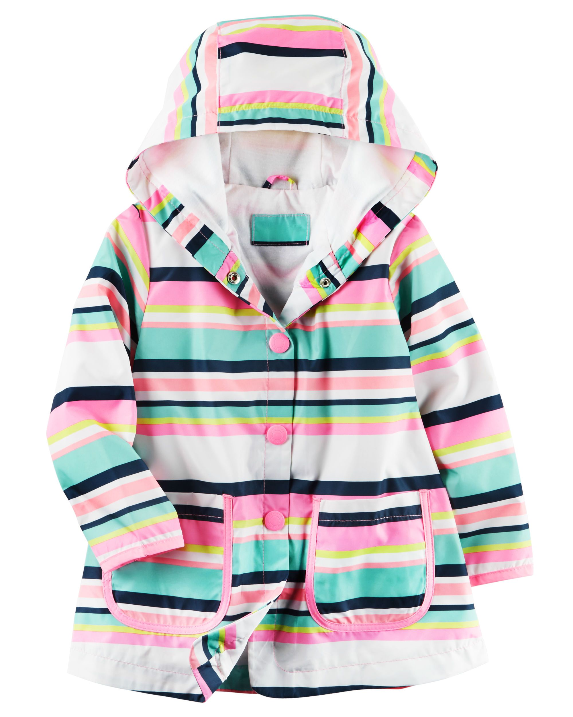 338146ae47cb Shop Fleece-Lined Striped Rain Slicker at CartersOshkosh.ca. Visit ...