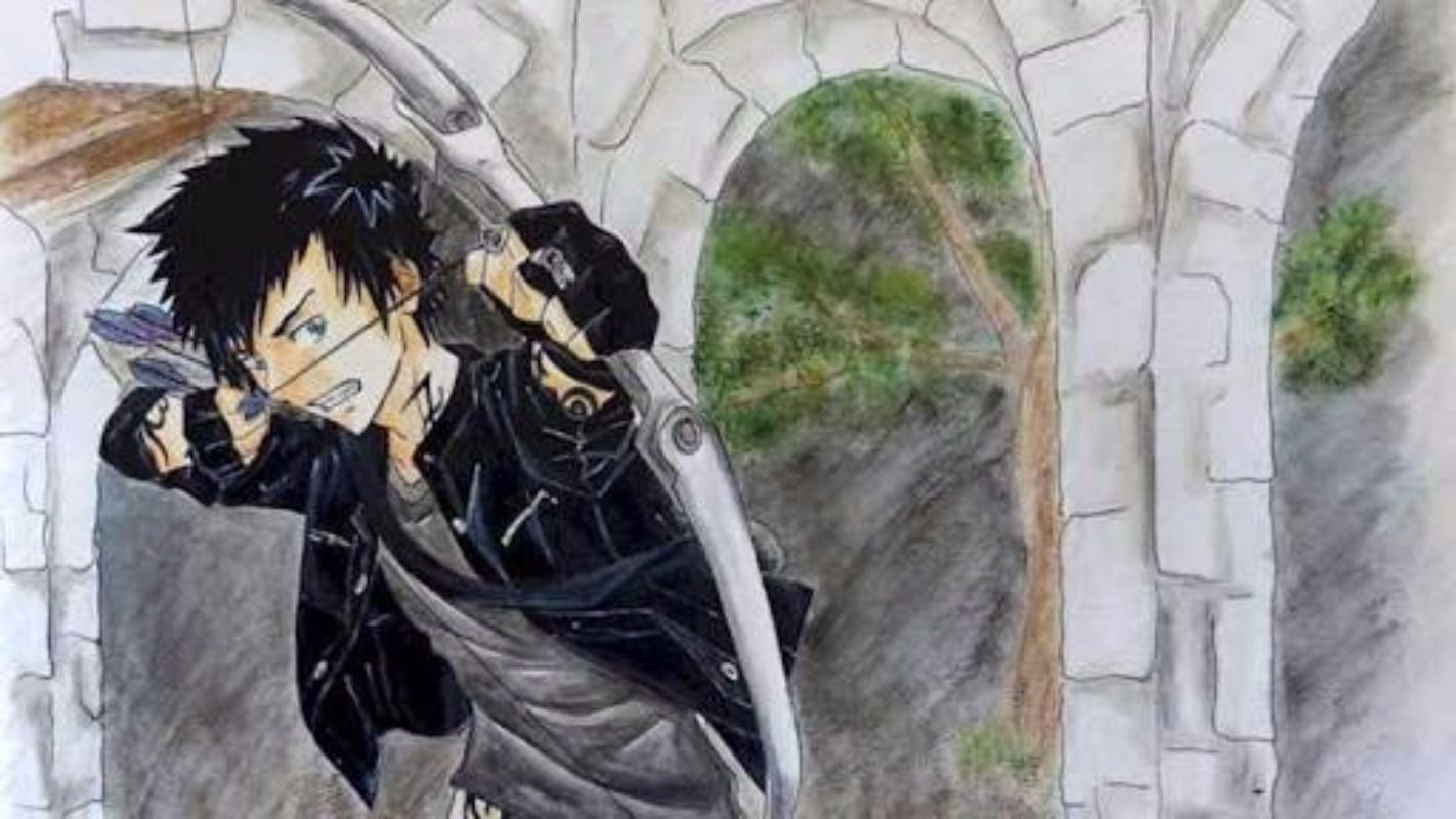 From Vitor Y ...  (I like the background here)  ...  alexander 'alec' lightwood, malec, the mortal instruments, shadowhunters