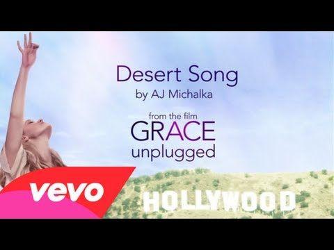 Aj Michalka Desert Song Lyric Video Youtube I Love This