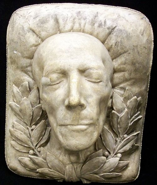 Super ulysses s. grant death mask | oddities | Pinterest | Death  CV49