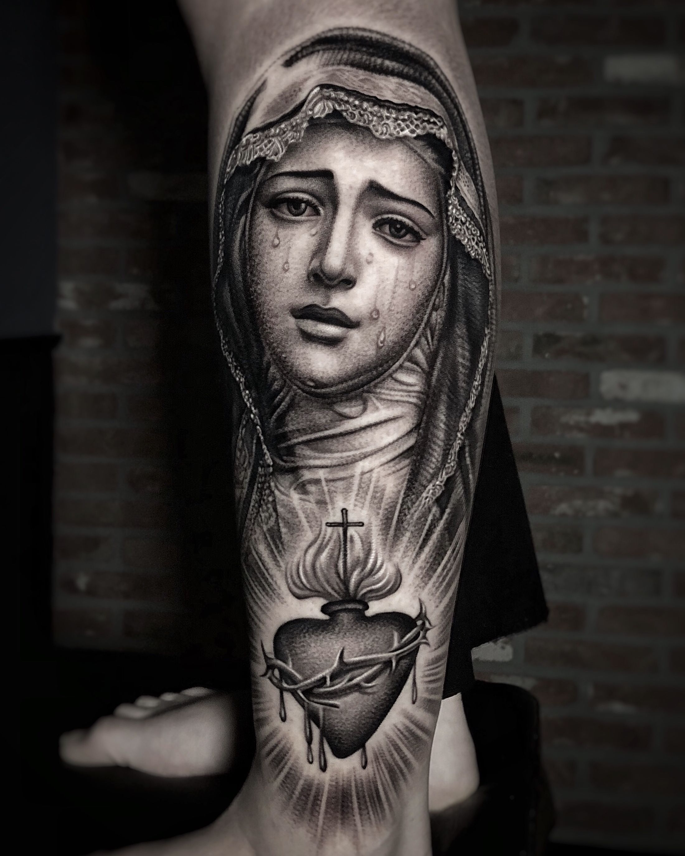 YGs New Virgin Mary Tattoo Covers His Entire Head - Stereogum
