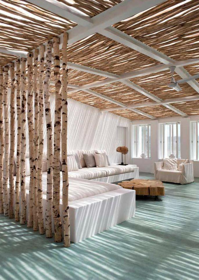50 Raumteiler-Inspirationen für dezente Raumtrennung   Wohnzimmer ...