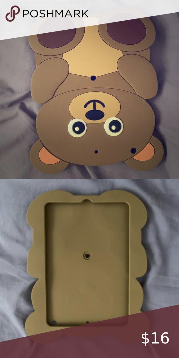 Claire's Bear iPad mini rubber case