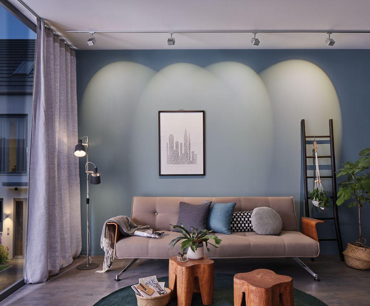 Wohnzimmerbeleuchtung Paulmann Urail Lichtschiene Wohnzimmerbeleuchtung