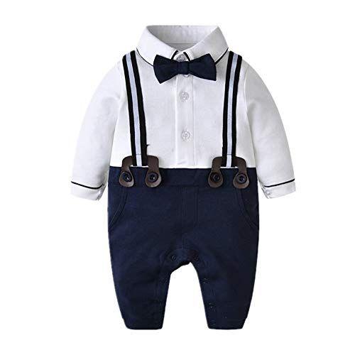 Bom Bom Baby Junge Smoking Strampler Taufe Hochzeit Gentleman Kleidung: Amazon.de: Bekleidung