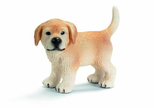 Schleich Standing Golden Retriever Puppy Toy Figure Learn More By Visiting The Image Link Golden Retriever Puppy Toy Puppies Golden Retriever