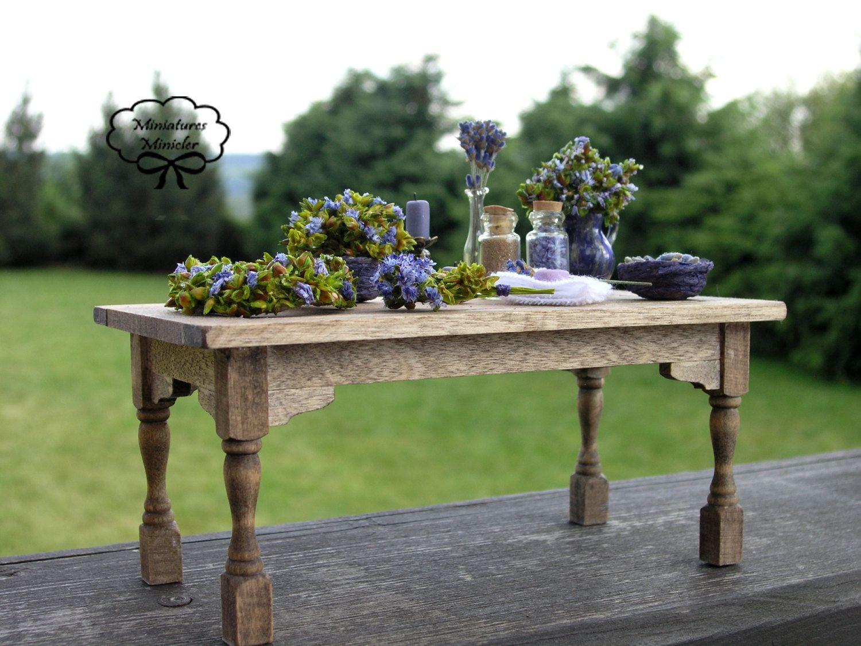 Dollhouse Bonjour Provence Lavender Set