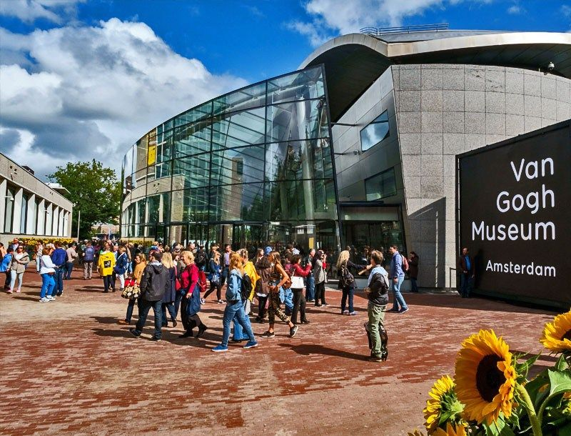 25 Best Things To Do In The Netherlands The Crazy Tourist Van Gogh Museum Netherlands Tourism Amsterdam Tours