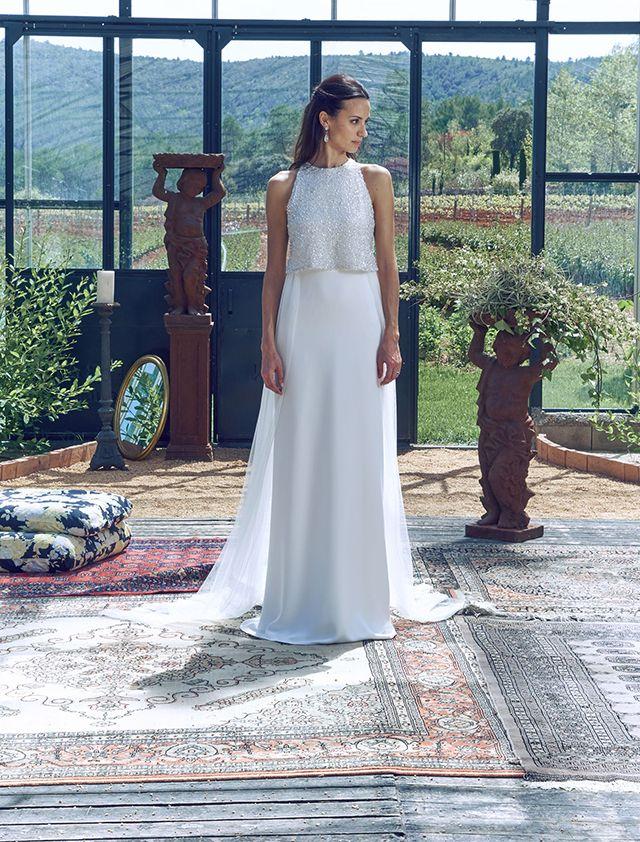 515ecd063 vestido novia barcelona romantico bohemio blog bodas ideal precios ...