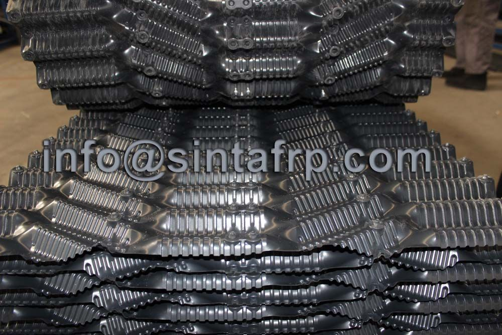 Mechanical Bonding Cooling Tower Fills Www Sintafrp Com