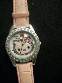 @Michelle PeeplesHello Kitty wrist watch shell pink Free Shipping $10.99
