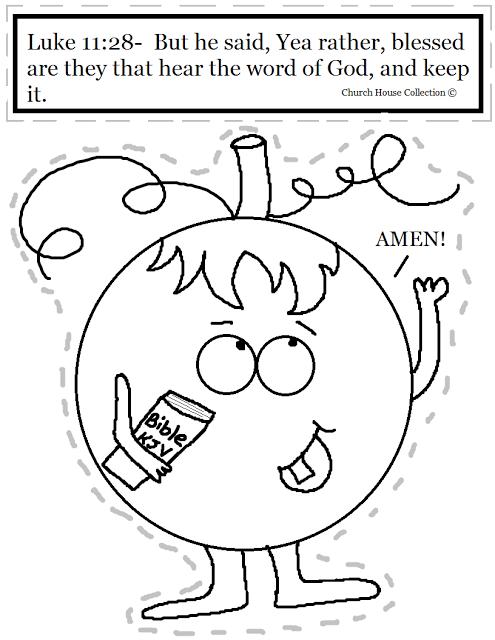 Church House Collection Blog: Pumpkin Holding Bible Cutout