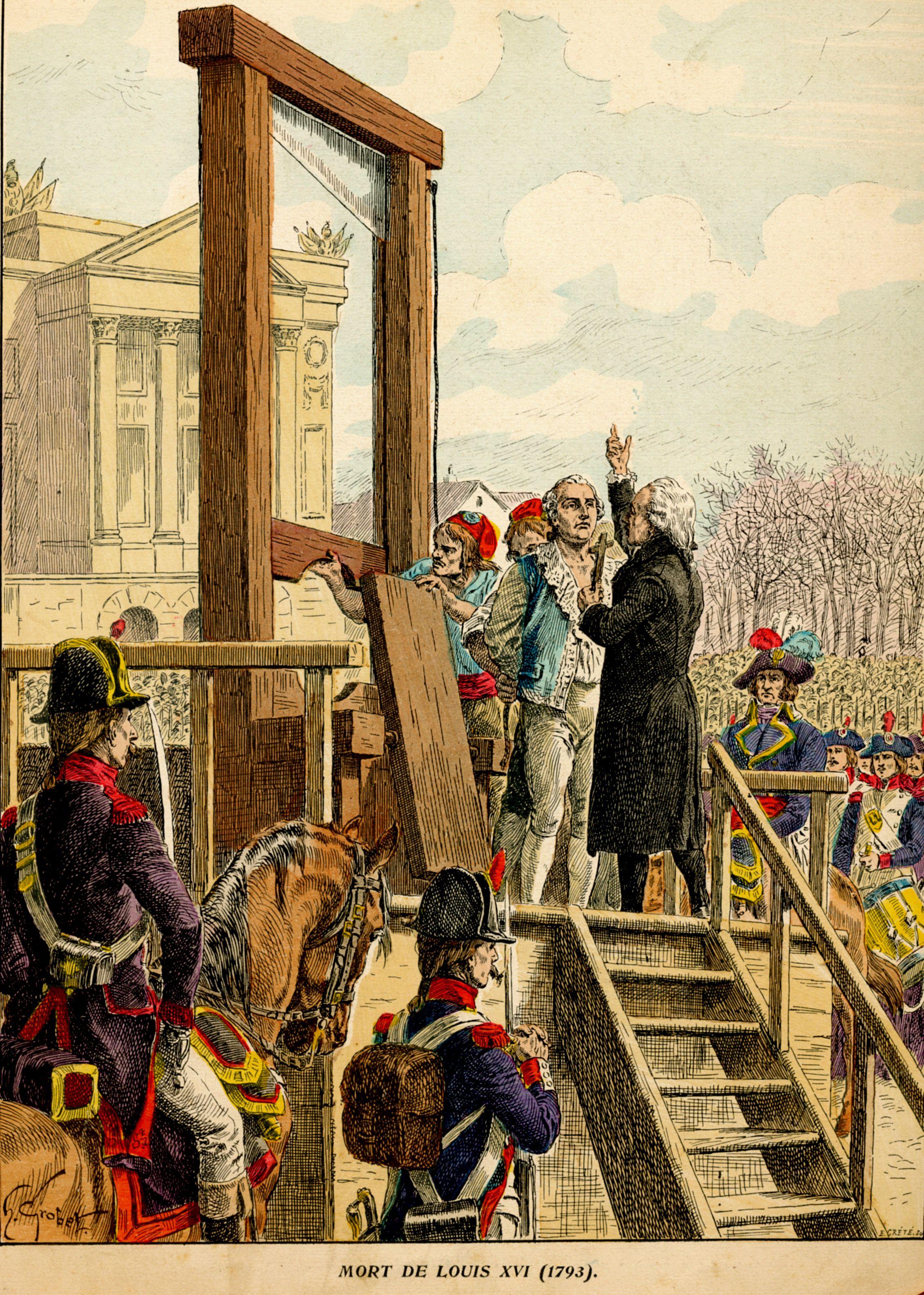 Mort de Louis XVI (1793) | Histoire de France | Pinterest ...