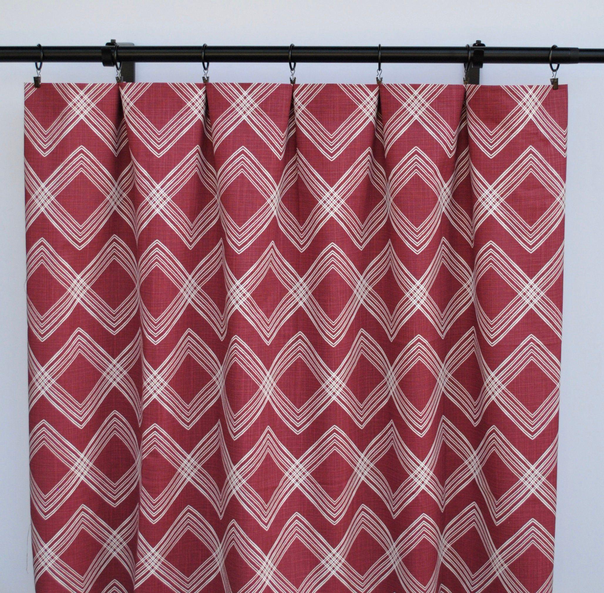 Burgundy Curtains Red Curtain 2 Curtain Panels Curtains Home