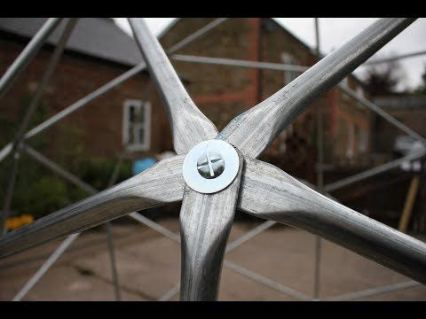 Dome build methods - flattened conduit - YouTube | Connectors ...