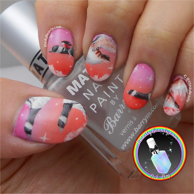 Flying To England Nail Art Canadian Geese Ithinity Nail Art