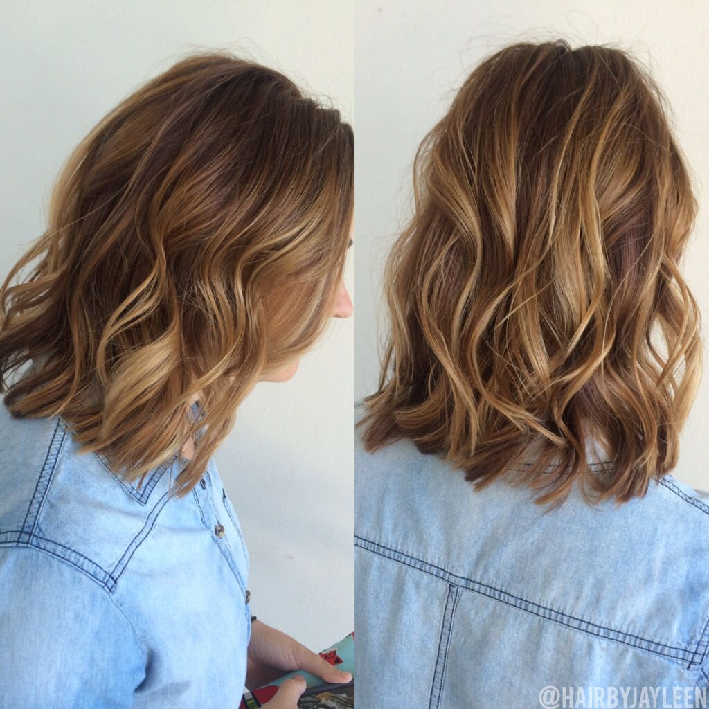 Awe Inspiring Blonde Highlights On Medium Brown Hair By Sarah Peck Short Hairstyles For Black Women Fulllsitofus