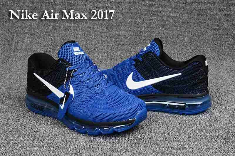 New Style Nike Air Max 2017 KPU Triple Black 849560 701 Men's Sport Running Shoes Sneakers