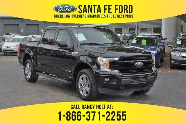 Used Ford 4x4 Trucks For Sale >> Used 2018 Ford F 150 Lariat 4x4 Truck For Sale Gainesville