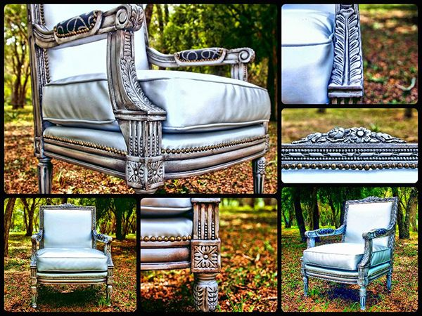 Repurposed Chair Painted and Aged with Modern Masters ...