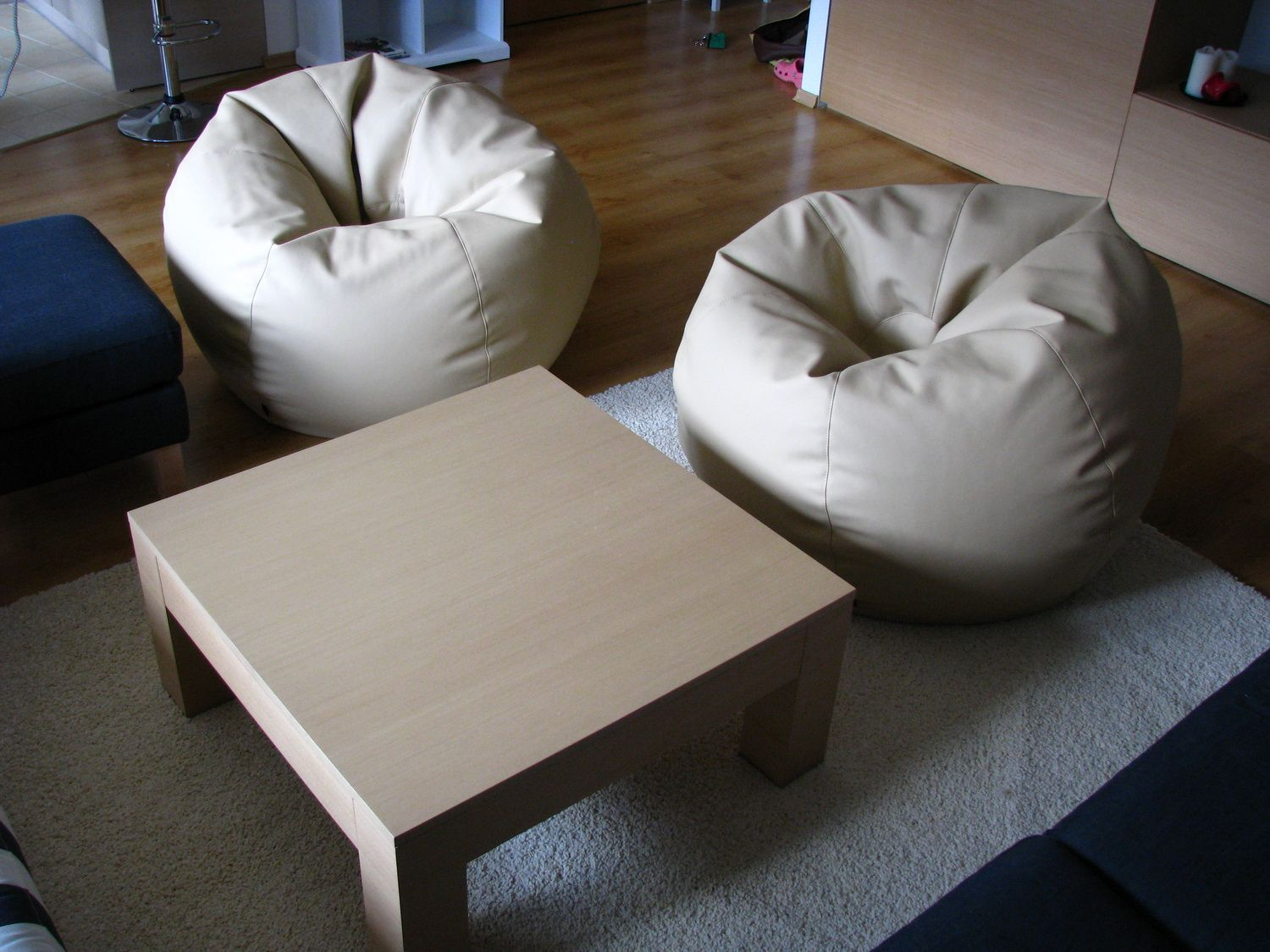 Outstanding Round Beanbag Chair By Lennycraft Large Size Handmade Camellatalisay Diy Chair Ideas Camellatalisaycom