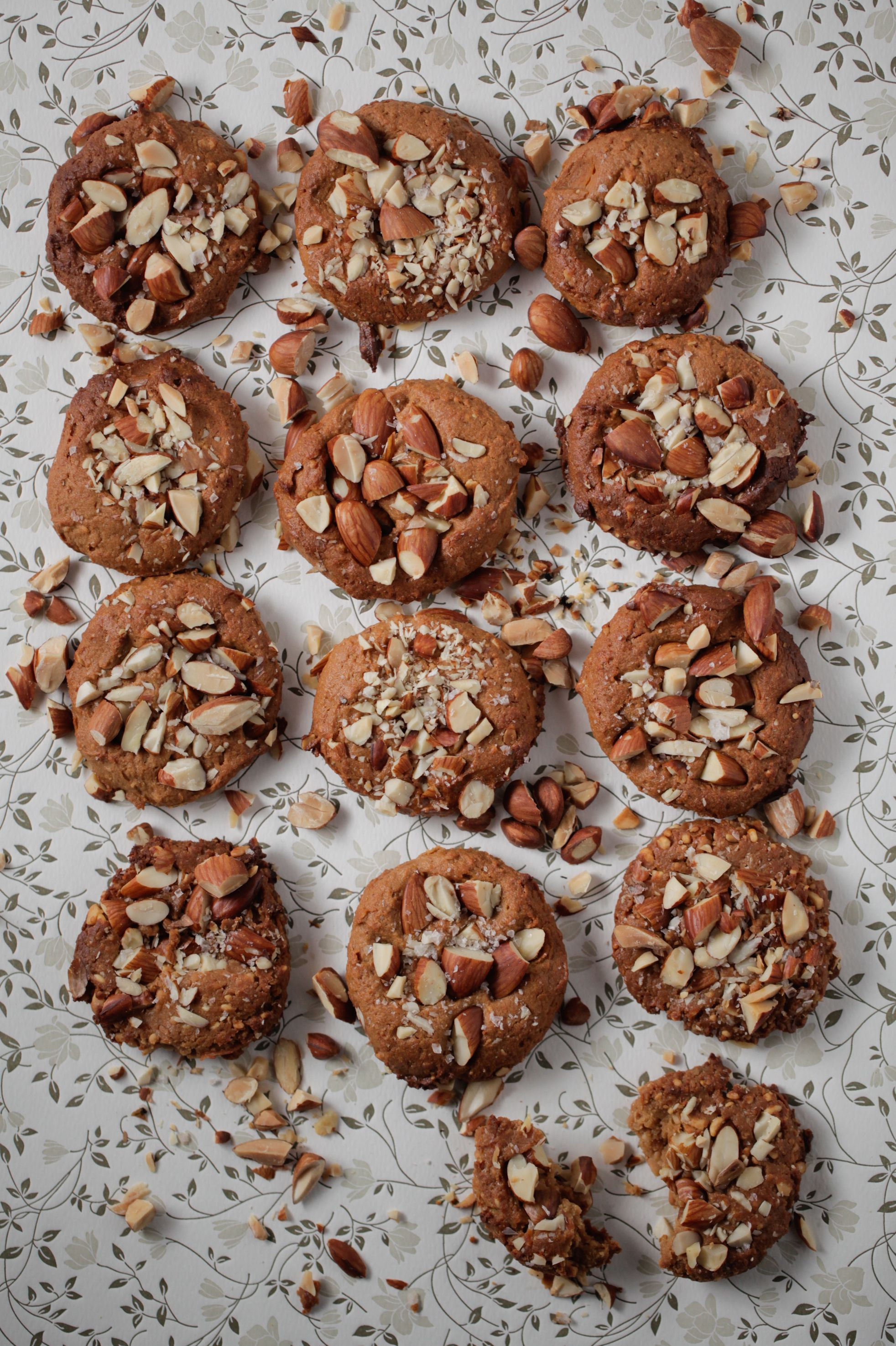 Salted Nut Butter Cookies Recipe Healthy Sweets Healthy
