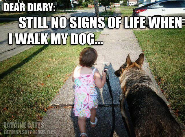 A girl and her German Shepherd. Hahaha too funny.