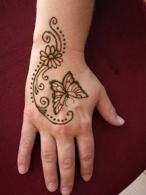 121 Simple mehndi designs for hands || Easy Henna patterns with Images - - #Designs #Easy #Hands