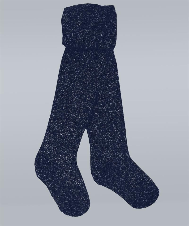 1ad456634f062 Glitter Navy Tights by Vitamins Baby #Glitter #Navy #Toddler #Tights ...