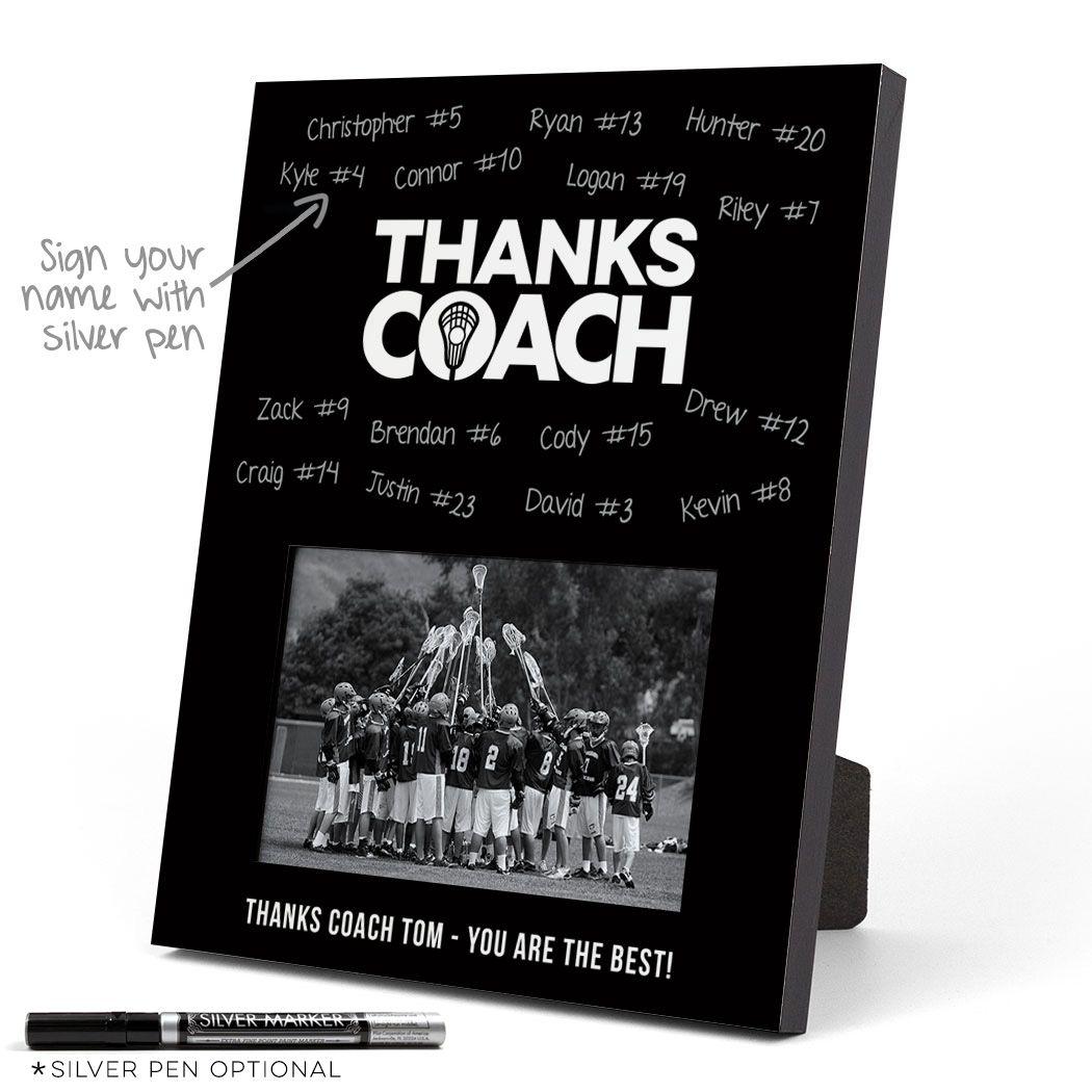 boys lacrosse thanks coach