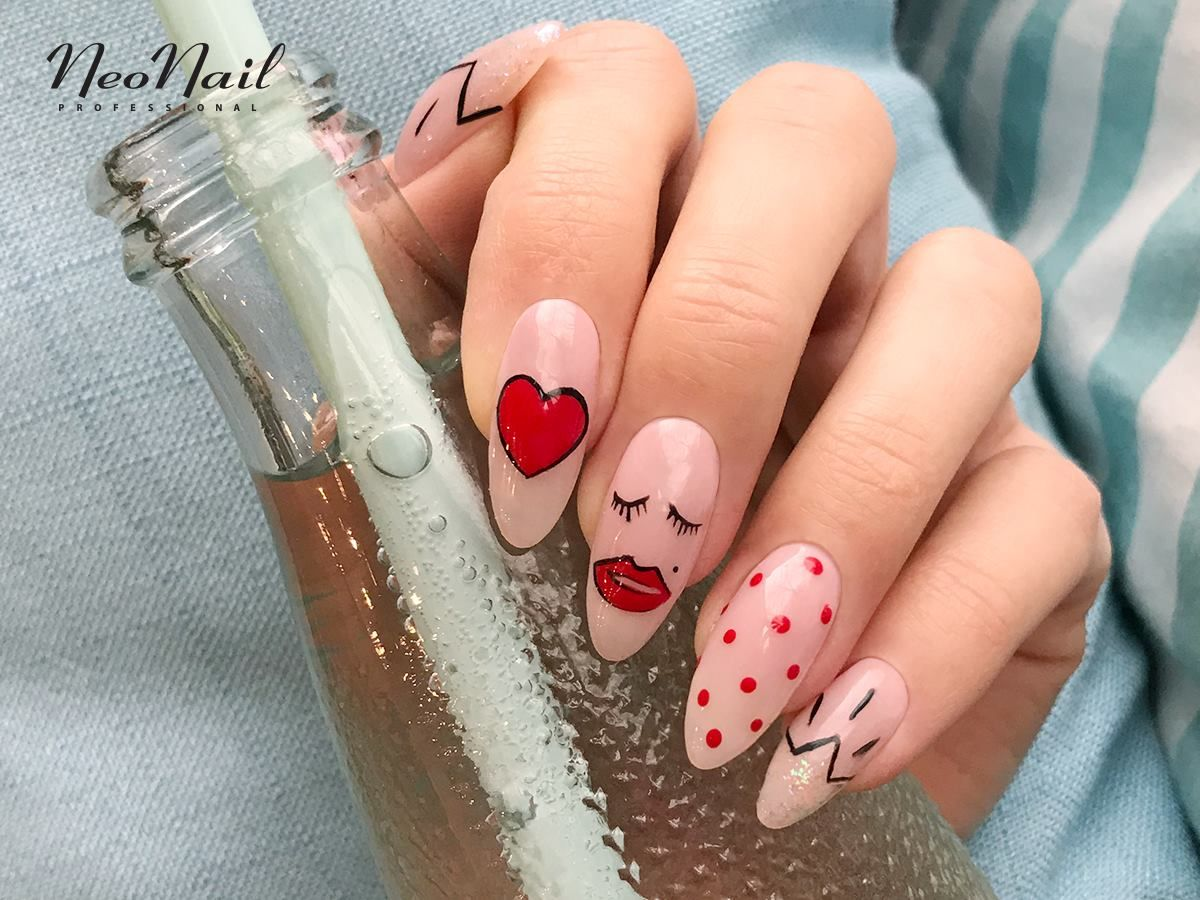 64 Best Nails On A Date Valentine S Day Images Paznokcie
