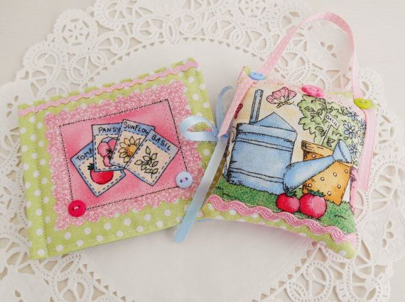 Garden themed Sewing kit by picocrafts on Etsy, $10.00