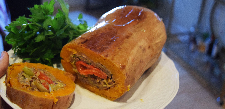 Squapeppen - The Vegetarian's Turducken
