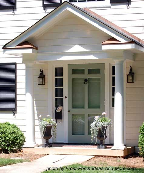 Small Front Porch Design Ideas For The Caribbean: Small Front Porches