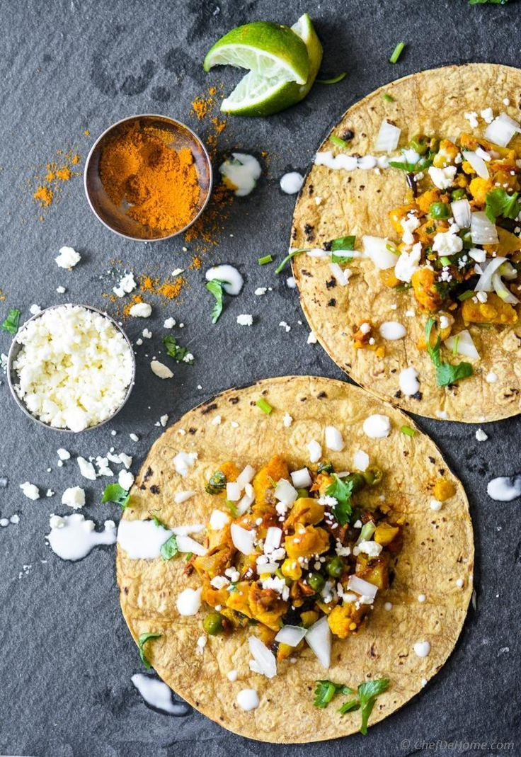 recipe: indian curry tacos [11]
