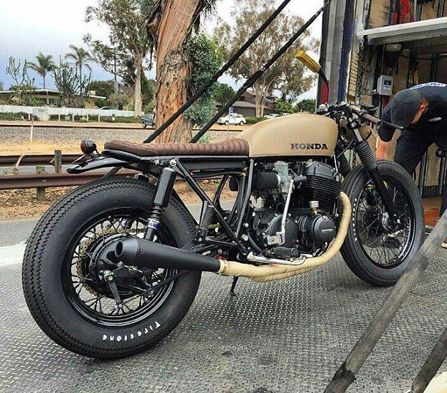 caferacer #bratstyle #scrambler #motorcycle #instamoto #stocksucks #builtnotbought #kustom #kulture
