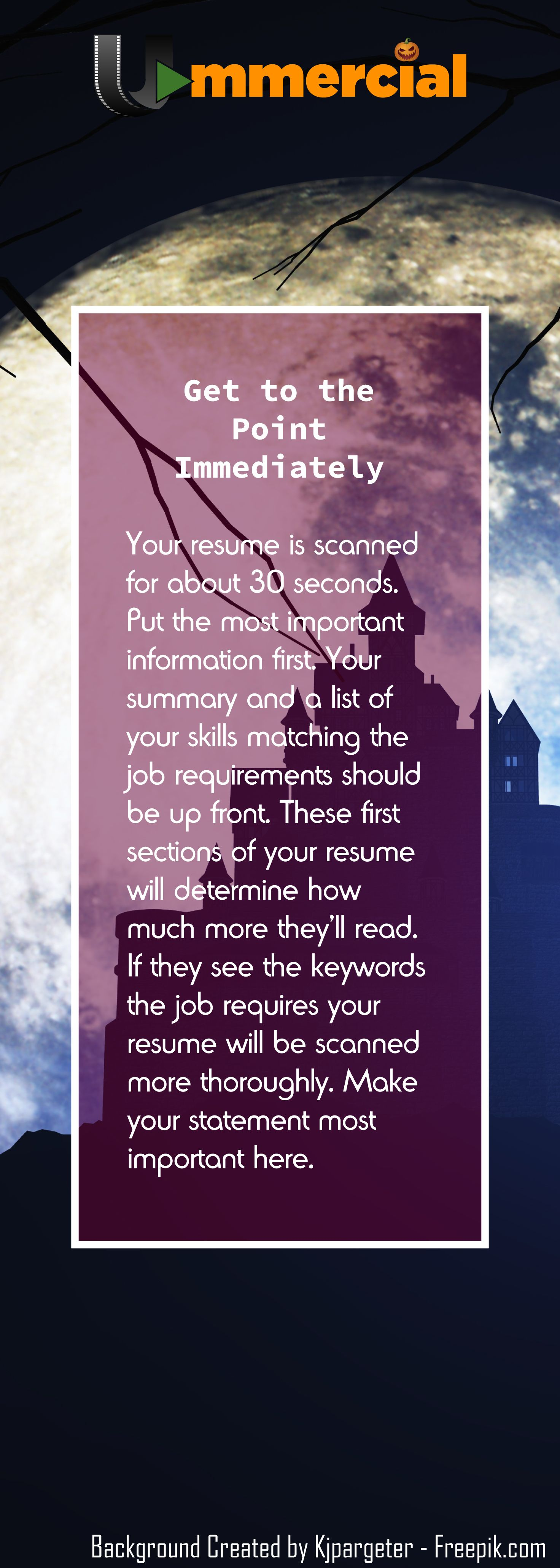 Pin by ummercial on get a job brochure sample video
