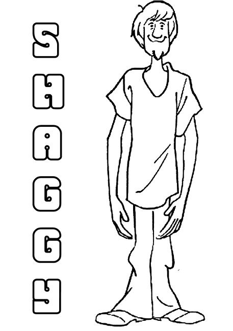 Scooby Doo Coloring Pages Shaggy Scooby Doo Coloring Pages Halloween Coloring Pages Halloween Coloring