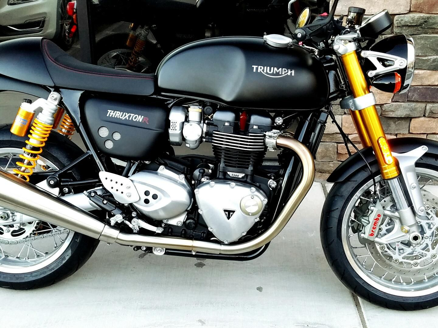 2016 triumph thruxton 1200 r for sale in las vegas nv freedom euro cycle of las vegas 702. Black Bedroom Furniture Sets. Home Design Ideas