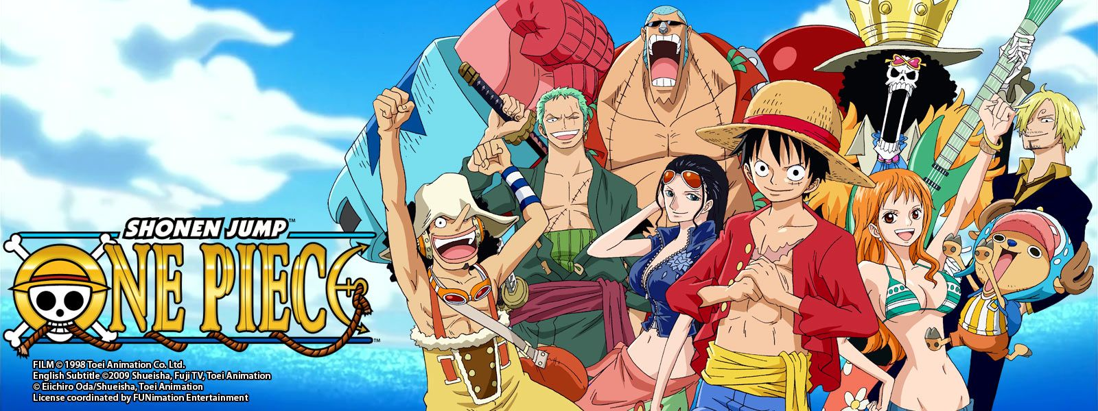 One Piece Available both in Manga and Anime Genre Action