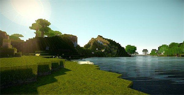 Super Realism Light Texture Pack 1 8 1 7 10 And 1 7 2 Minecraft Wallpaper Minecraft Shaders Texture Packs
