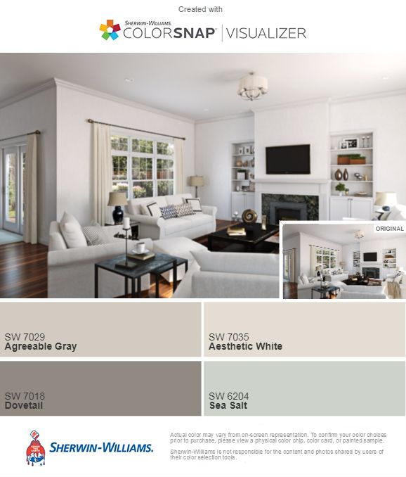 Love These Sherwin-Williams Interior Paint Colors. Finally