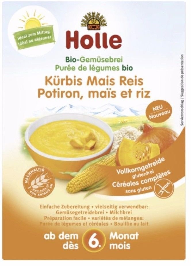 Baby Food 162034 Holle Organic Vegetable Porridge Pumpkin Maize Rice 175g New Free Shipping Buy It Now Only 12 95 On Ebay Baby Food 162034 Pintere