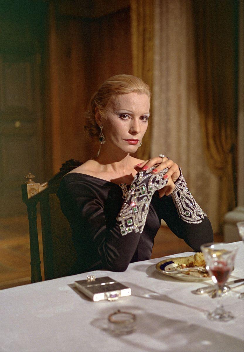 """Ingrid Thulin in """"La caduta degli Dei"""" (1969). Director: Luchino Visconti."""