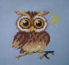 owls cross stitch - Cerca con Google