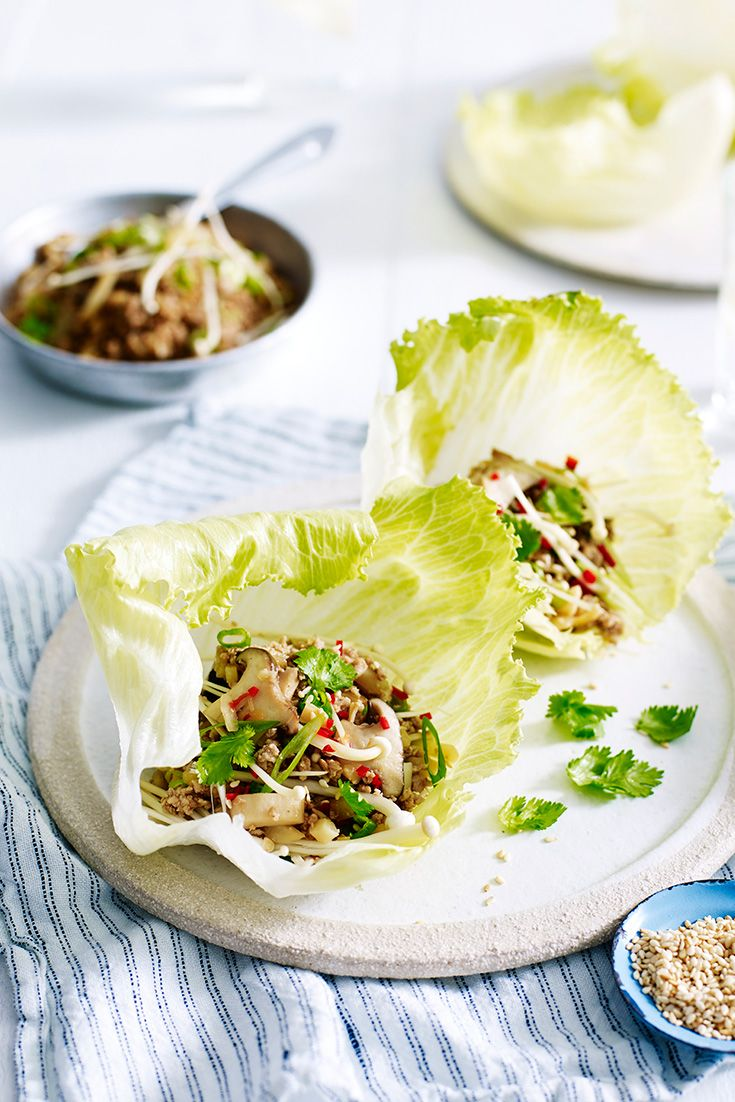 Make this Asian inspired recipe for Turkey San Choy Bau ...