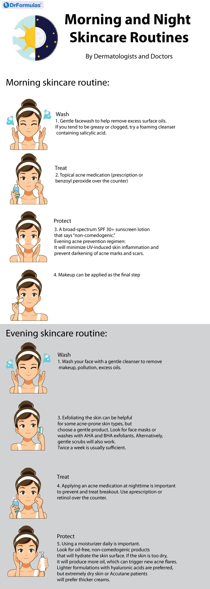 The Doctor S Skincare Guide For Acne Prone And Oily Skin Effective Skin Care Products Skin Care Routine Order Face Skin Care Routine